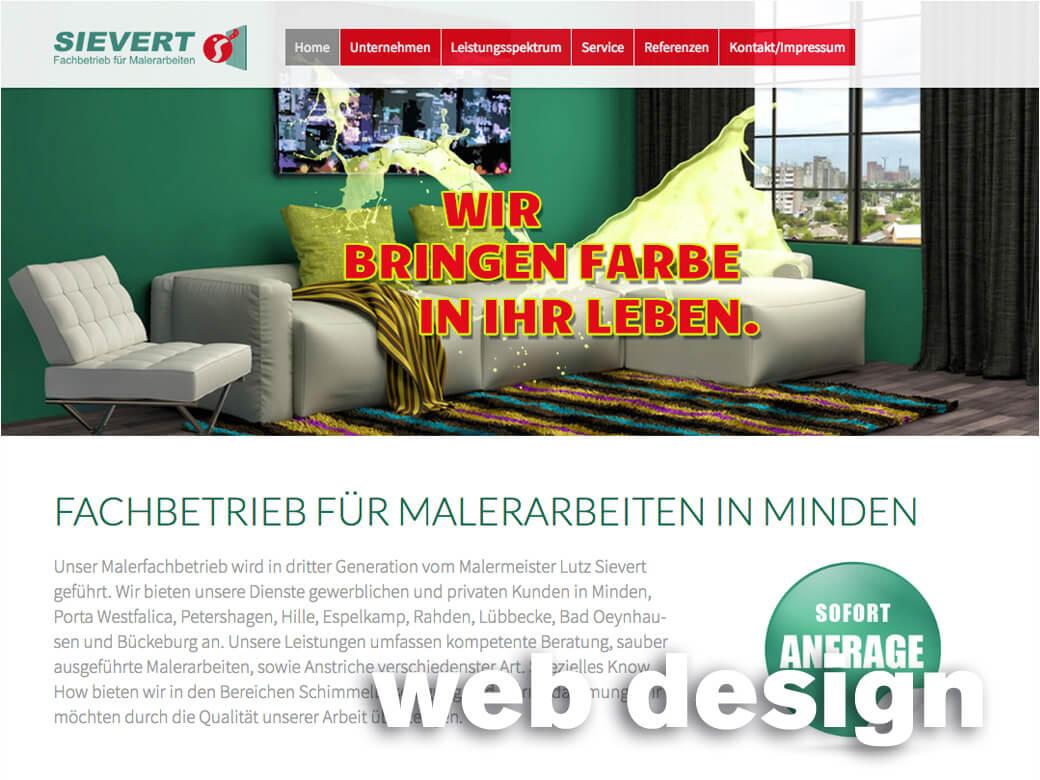 Webdesign. Seo. Social Media
